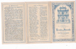 CARD SANTINO TRIPLO MIRACOLO DEL S.S. SACRAMENTOCHIESA CORPUS DOMINI TORINO CROMOLITO     Cm.13,5X8  2-0882-13585-84 - Santini