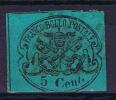 STATO PONTIFICIO Sass. N° 16, Michel 114 , Used, Obl. - Kerkelijke Staten