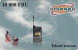 BURUNDI - Mango By Telecel Prepaid Card 10000 FBU, Used - Burundi