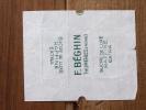 Emballage De Sucre Ancien  F.BEGHIN Thumeries 239 - Sucres