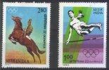 INDE 632/33 ** (MNH) - Horses