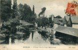 CPA 18 BOURGES L YEVRE VERS LE PONT SAINT PRIVE 1917 - Bourges