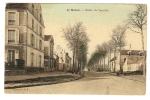 CPA - 77 - Seine Et Marne - Meaux - Route De Varedde  ( Toilée - Colorisée ) - Meaux