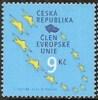 2004 - REPUBBLICA CECA - ENTRATA IN EUROPA UNITA. MNH - Emissioni Congiunte