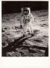 Phot Format 24.3 X 17.8 Cm - Lunar Surface - Apollo 11 - Astronomia
