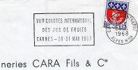 1968 France 6 Cannes Gastronomie Alimentation Gastronomy Food Gastronomia Alimentazione - Food
