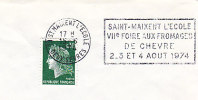 1974 France 79 Saint Maixent Fromage Gastronomie Alimentation Cheese Gastronomy Food Gastronomia Alimentazione - Food