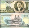 KOREA, NORTH 1000 WON 2002 P45 UNCIRCULATED - Korea (Nord-)