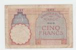 Morocco 5 Francs 14-11- 1941 VG P 23Ab 23A B - Marokko