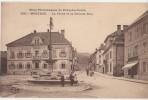 CPA 25 MORTEAU La Place Et La Grande Rue Hôtel De La Guimbarde Fontaine - Zonder Classificatie