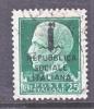 Italy 1  (o) - 4. 1944-45 Social Republic