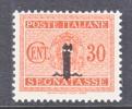 Italy J 5  * - 4. 1944-45 Social Republic