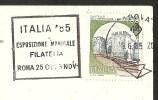 ESPOSITIONE MONDIALE FILATELIA Roma 1985 Padova Palazzo Di Ezzelino - Stamps (pictures)