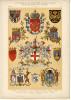 /!\   #0377 - SUPERBE LITHO 1900 - HERALDIQUE - Litografia