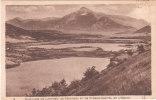 Carte Postale Ancienne De L´Isère - Les Lacs De Laffrey - De Petichet Et De Pierre Châtel Et De L'Obiou - Laffrey