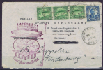 Airship Hindenburg: May 9 1936 Lakehurst To Frankfurt- Trip Number 13, Departure May 11th, First North America Trip - 1c. 1918-1940 Brieven