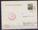 Zeppelin Hindenburg: LZ 129 Frankfurt To Lakehurst, First North America Trip, Trip Nr, 12 Red Stamp Europe North America