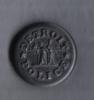 U.S.A. DETROIT POLICE BUTTON  - RARE - - Buttons