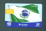 BRASIL  -  Inductive Phonecards As Scan - Brésil