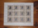 Polen Poland Sheet Schildkröte Turtle Gestempelt 0 Used 50 Gr. Stempel 5.6.1964 Katowice Druckereizeichen - Blocks & Sheetlets & Panes