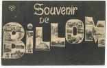 Souvenir Grosses Lettres Multi Vues  De Billom VDC - Otros Municipios
