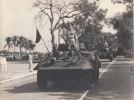 CHAR D'ASSAUT 24 X 18 CM  DEFILE  SUREMENT AFRIQUE DU NORD - Guerre, Militaire