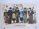 Les Bretons à Paris - Souvenir De L' Exposition Arts Et Techniques 1937 - Le Parc Des Attractions - Pub KREMA - Confiserie & Biscuits