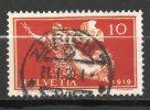 SUISSE 10c Rouge Jaune 1919 N°171 - Svizzera