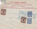 Colombia 1926 Medellin - Letter Lettre Brief To Paris Via New-York - Colombia