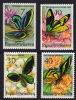 PNG 1975  Butterflies  Sc 415-8  **  MNH  Papillons, Schmetterlinge - Papouasie-Nouvelle-Guinée