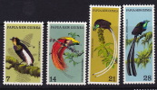 PNG 1973  Birds  Sc 365-8  **  MNH - Papouasie-Nouvelle-Guinée