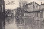Asnieres - Rue Donnant Sur Le Quai - Inondations De 1910 - Asnieres Sur Seine