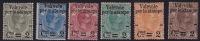 1890  «Valevole Per Le Stampe» Serie Completa *Sass 50-55  * Il 50(*) - Ungebraucht