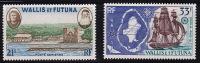 Wallis Et Futuna 1960  Mata-Utu  Vue , Voilier Et Carte  Maurt PA 16-7 *  MH - Wallis And Futuna