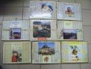 Lot De 8 -calendriers -- Ptt  1969-1971-1972-1976-1973- 1957-1968-1974- Dimensions 28x21  -oller--charente - Autres
