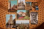 LOT De 7 CP - Monuments Religieux De L'aisne - Laon ,  Soissons , Montcornet - France