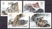 China 1989 Yvert 2950/ 53, Views Of Mount Huashan, MNH - Ongebruikt