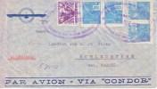 Brazil  AEROPHILATELIC COVER CONDOR  To GERMANY - Airmail