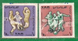 1  Y.A.R.  (YEMEN)-1966-Deportes-Futbol-Copa Del Mundo  REBAJADA !!!! - Yemen