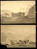 Mürren 2 Photos 1883 Hôtel Des Alpes 10x15cm - Old (before 1900)