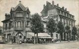 N°18187 -cpsm Reims -café Tabac Du Parvis- - Cafés