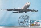 AVIONS,Plane BOEING 707, Long-haul TAROM, Commemorative Postcard,carte Postale Originale, Perfect Shape - ROMANIA - 1946-....: Moderne