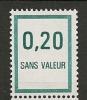 FRANCE Fictif  N° F208 Neuf Et Sans Charnière - Phantomausgaben