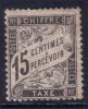 *PROMO* 15c Banderolle Neuf * (Y&T N° 16, Cote 125€) - Postage Due