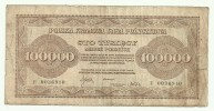 Poland 100000 Marek 1923 - Pologne