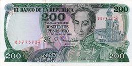 Colombia 1 Peso ORO 1953 AUNC CRISP Banknote P-398 - Colombie