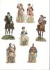 Découpis Authentiques/19éme Siécle/Vrac/soldats/ 1880-1885                         DEC8 - Découpis
