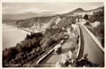 AK Taormina Ca. 1940 (?) L´ Etna Visto Dallo Stradale Bus Autobus - Giardini Naxos Mascali Acireale - Messina