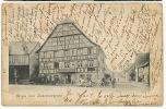 Dammerkirch Gruss Aus  Timbrée 1905 Pli A Gauche Et Petite Dechirure - Sonstige Gemeinden