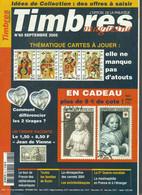 MAG--259. TIMBRES MAGAZINE N° 60, SEPT. 2005, DOSSIER = FRANCE , ETE / HIVER 1942/43, L'AMORCE DU REFLUX - Français (àpd. 1941)